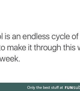 cycle, school and funny post