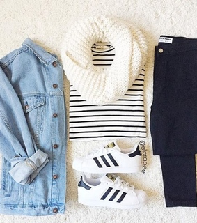 casual, fashion and girl