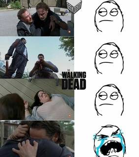 cry, daryl dixon and dead
