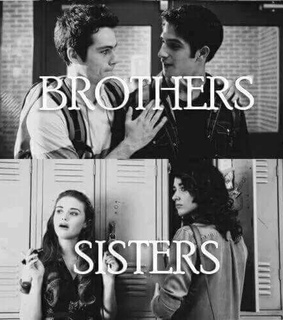 teen wolf, sciles and allydia