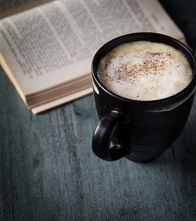 books, breakfast and coffee