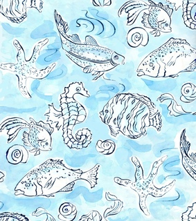 background, fish and pattern