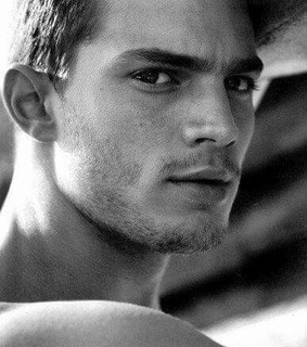 black and white, christian grey and fifty shades