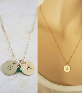 alphabet, initial and jewelry