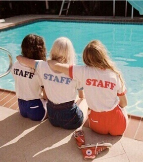 friends, staff and summer