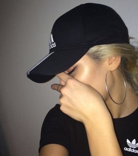<3, adidas and black