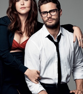 couple, dakota and fifty shades darker