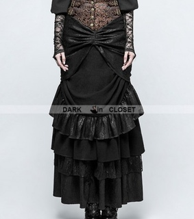 gothic dress, steampunk dress and steampunk style
