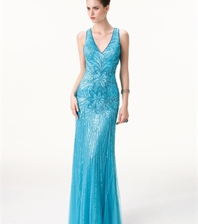 mermaid prom dresses