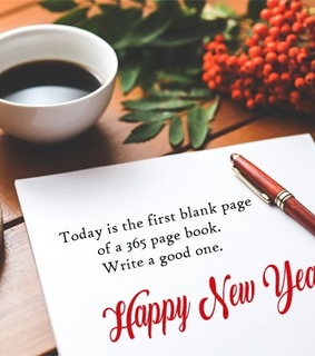 happy new year, inspirational and life