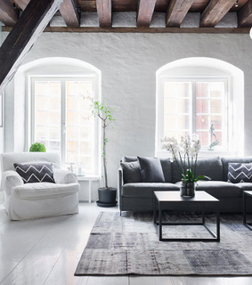 appartement, deco and grey