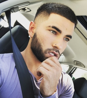 beautiful eyes, in the car and purple