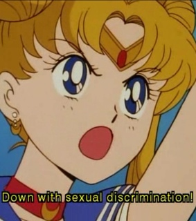 retro anime, feminist and sailor moon