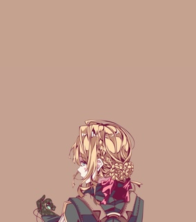 violet evergarden, wallpaper and doll