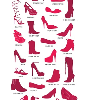 fashion, red and platforms