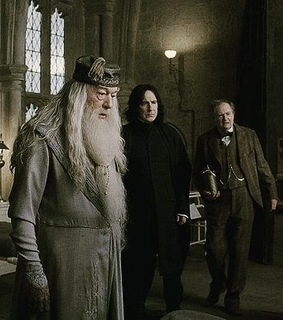 severus snape, half blood prince and albus dumbledore