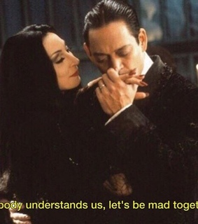 goth, adams and couples