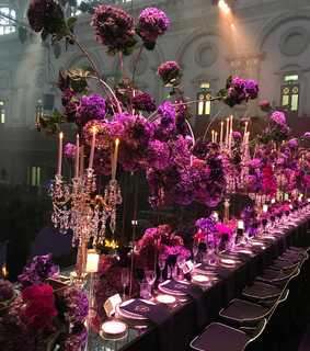 flowers, night gala and banquet
