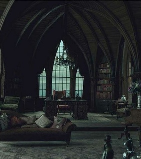 houses, slytherin and common room