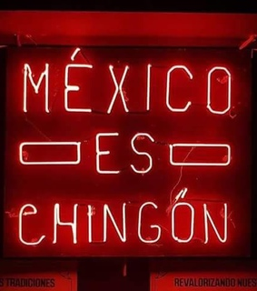 red, chingon and frase