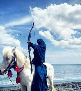 hijab, niqab and archery