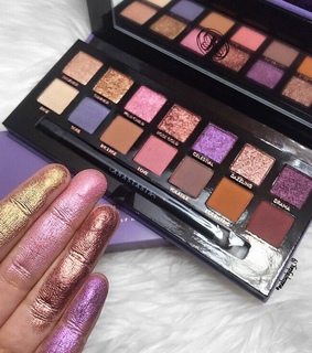 purple, pink and abh