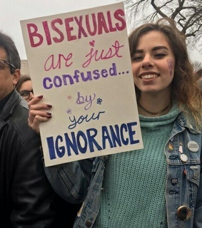 bisexual, notconfused and bisexuality