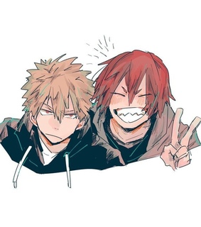 my hero academia, bakushima and bakugo katsuki