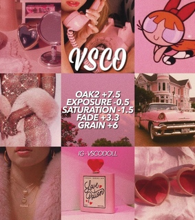 vsco preset, pink aesthetic and insta feed