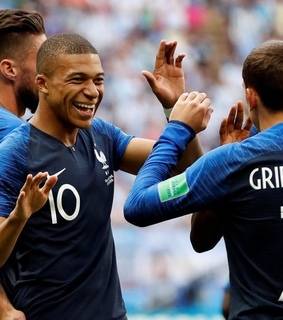 mbappe, 7 and world cup