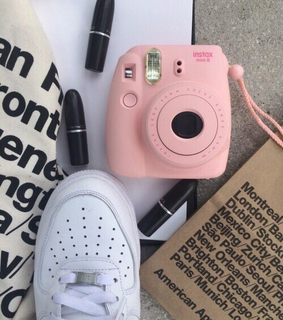 notebook, paperbag and aesthetic