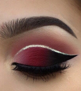 eye lashes, brow and eye liner