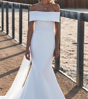 long dress, offwhite and okdresses