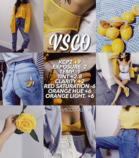 vsco inspo, vsco and theme yellow