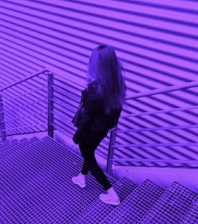 discovery, girl and purple aesthetics