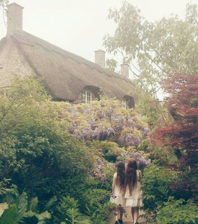 photography, cottage and ethereal