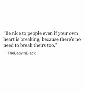 be nice, quote and kindness