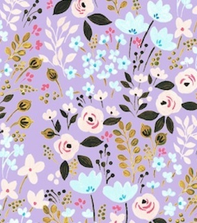 surface pattern, artwork and flowers