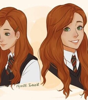 ginny weasley, movie and griffindor