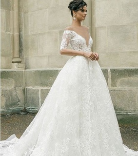 bridal dress, wedding dress and fashion wedding dress