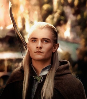 lord of the rings, legolas and orlando bloom