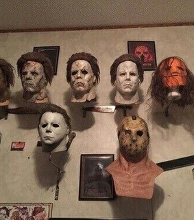 mask, vintage and halloween