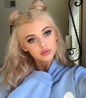 space buns, hairstyle and loren gray
