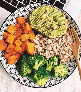 healthy meals, food and meal prep