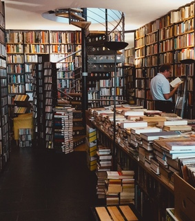 second hand, bookshop and second hand bookstore