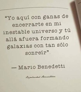 universo, mario and benedetti
