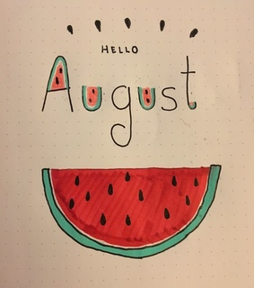 hello august, summer and august