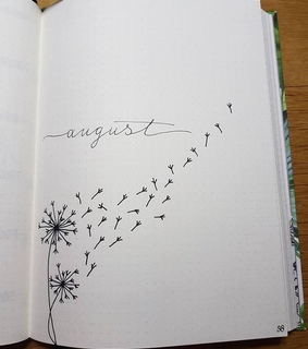 journal, simple and august