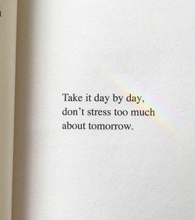 stress, love and quote