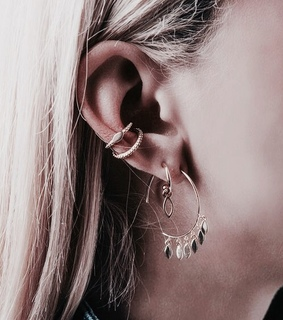 piercing, earrings and accessories